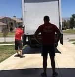 Man watching a truck