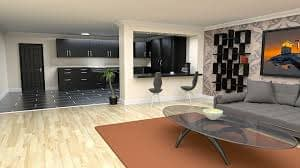 clean home floor