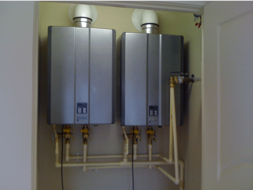Selecting the right tankless water heater