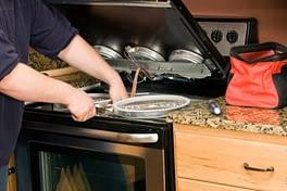 Fixing stove wires